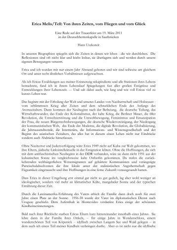 Erica Melis - Prof. Jörg Siekmann - Universität des Saarlandes