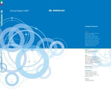 Annual Report 2007 ita - Bonfiglioli