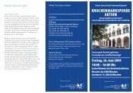 Knochenmarkspende AKTION