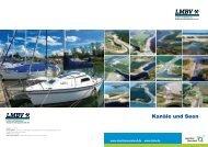 Kanäle und Seen - Eine Gesamtübersicht - LMBV