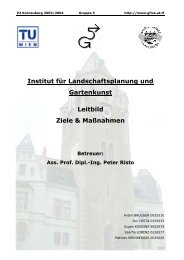 Institut für Landschaftsplanung und Gartenkunst Leitbild Ziele ...