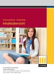 Allgemeines & Inhaltsübersicht - innverlag