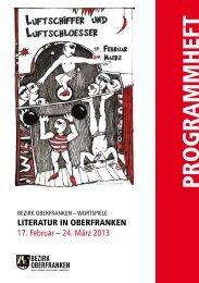 Programmheft 2013 - Servicestelle für Theater und Literatur