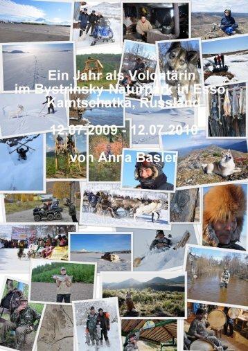 Bericht Anna Basler aus der Schweiz, Volontärin 2009-2010
