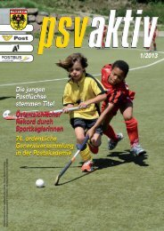 01/2013 - Post SV Wien aktiv