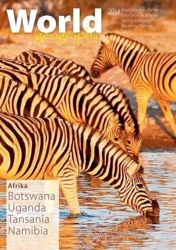 Botswana Uganda Tansania Namibia
