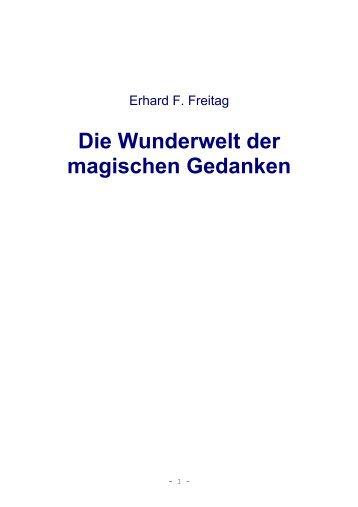 Die Wunderwelt der magischen Gedanken - Sternenkraft.at