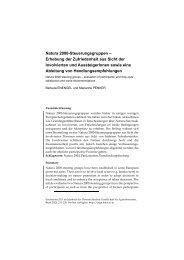 Natura 2000-Steuerungsgruppen - Österreichische Gesellschaft für ...