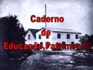 Educação Patrimonial O que é Educação Patrimonial - Arquivo ...