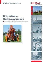 Seismische Untersuchungen - ExxonMobil