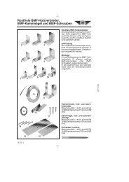 Rostfreie BMF-Holzverbinder, BMF-Kammnägel und BMF-Schrauben