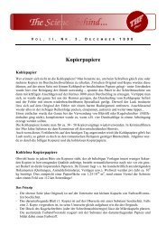 Vol. II, Nr. 3, Kopierpapiere - Gibb-laboranten.ch
