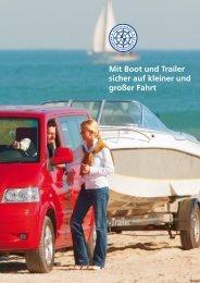 Mit Boot und Trailer sicher auf kleiner und großer Fahrt - BVWW