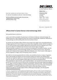 Offener Brief in Sachen Bonner Unternehmertage ... - Michael Faber