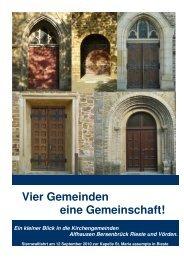 Pfarreiengemeinschaft - St. Vincentius Bersenbrück