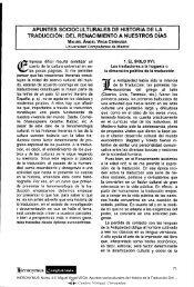 Apuntes socioculturales de Historia de la Traducción: Del ...