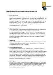 Wahlprüfsteine NRW - Albert Schweitzer Stiftung für unsere Mitwelt