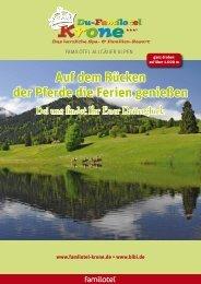 Download Pferdeprospekt - Du-Familotel Krone
