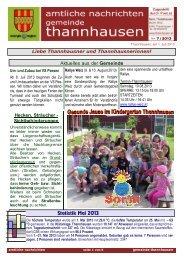 Wetter Thannhausen (Laufen) | dbminer.net