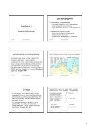 Semantik II - UK-Online