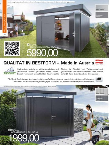 Qualität in Bestform – made in austria