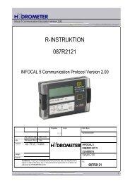 R-INSTRUKTION 087R2121 - Siemens