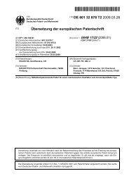 Selbstkompensierende Feder für einen mechanischen ... - Patente