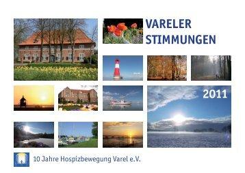 """Hospizkalender """"Vareler Stimmungen 2011"""""""