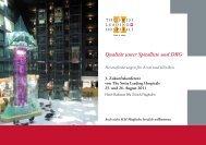 Programm - Swiss Leading Hospitals