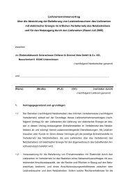 Lieferantenrahmenvertrag über die Abwicklung der Belieferung von ...