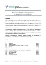 Arbeitsbeschreibung Spirometrie - Mukoviszidose e.V.