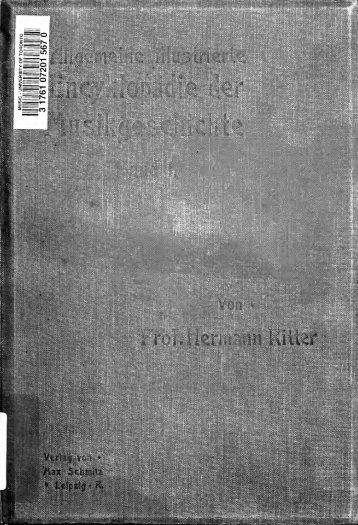 Allgemeine illustrierte Encyklopdie der Musikgeschichte