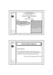 Le5.pdf - Lehrstuhl für Wirtschaftsinformatik