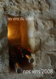 rosé 2007 - Les Vins du Soleil