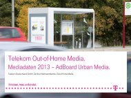 PDF - Out of Home Media - Telekom