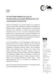 Internationalität und kompletter Marktübersicht ... - Messe Düsseldorf