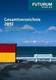 Gesamtverzeichnis 2013 - Rudolf Steiner Verlag