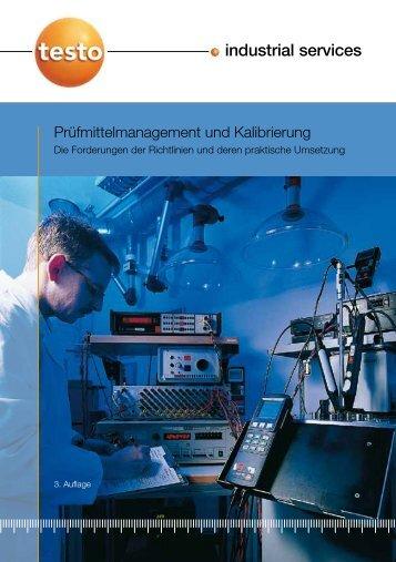 Fibel Kalibrierung und Prüfmittelmanagement - Testo Industrial ...