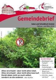 Gemeindebrief Februar & März 2012 - EmK