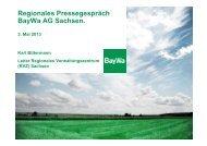Präsentation Sachsen - BayWa AG