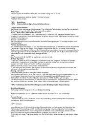 Protokoll - StuRa Universität Leipzig