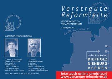 Verstreute Reformierte - Evangelisch-reformierte Kirche