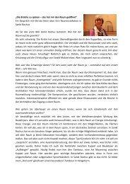 Ein Gespräch mit Christa Henn über ihre Rauminstallation in Sa