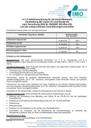 4.1.2 Gebuehrenordnung Verarbeiter und Importeure - IMO