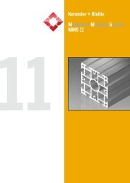 MMS 11 PDF-Katalog - Kemmler + Riehle GmbH & Co. KG