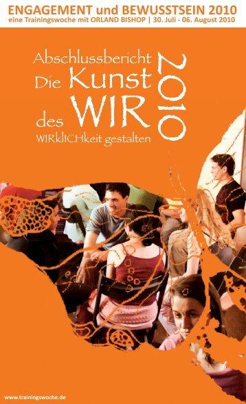 Report 2010 - trainingswoche.de