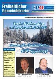 FPÖ Eggendorf! Frohe Weihnachten