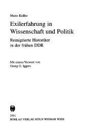 Exilerfahrung in Wissenschaft und Politik