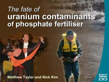 Uranium accumulates - Gevleugelde Woorden