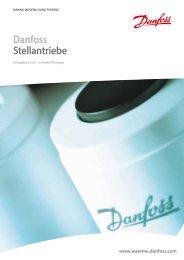 Stellantriebe TWA - Danfoss Wärme & Fernwärme